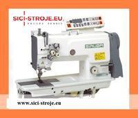 Šicí stroj SIRUBA T828-75-032H/C 2-jehla, vyp. jehla, odstřih, 3,2 mm, plná výbava ( kpl )