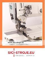 Šicí stroj SIRUBA T828-42-127KL/C 2-jehlový šicí stroj na výpustky plná výbava ( kpl )