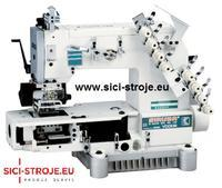 Šicí stroj SIRUBA VC008-04064P 4-jehlový šicí stroj s řetízkovým stehem ( kpl )