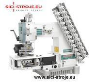 Šicí stroj SIRUBA VC008-12064P 12-jehlový šicí stroj, řetízkový steh ( kpl )