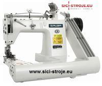Šicí stroj SIRUBA FA007-364XL/DP zalomené rameno s odtahem ( kpl )