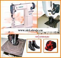 Šicí stroj SIRUBA R718-02 sloupový stroj, kolečkové a jehelní podávání ( kpl )