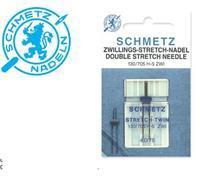Jehly pro dekorativní steh - S ZWI, pair, distance 4,0mm, 2x75