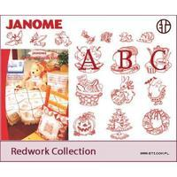 Program pro vyšívání JANOME Redwork Collection
