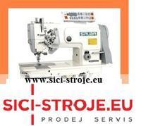 Šicí stroj SIRUBA T828-45-048M/C 2-jehlový stroj, vyp. jehla, odstřih ( kpl )