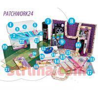 PATCHWORK 24 - 24 výrobků na patchwork