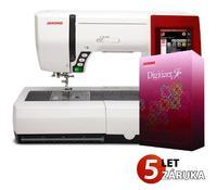 JANOME MEMORY CRAFT 9900    ZÁRUKA 5 let