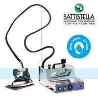 BATTISTELLA VAPORBABY INOX-Parní vyvíječ se žehličkou - parní stanice (Parní žehličky s generátorem)