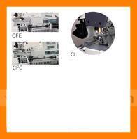 Siruba C007J-W542-364/CFC/CL/FH/2 3-jehlový, našívání gumy