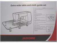 Přídavný stůl pro rozšíření pracovní plochy ke stroji Janome 8200/ 7700 / 8900