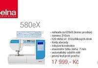 Elna 580eX šicí stroj quiltovací - NOVINKA
