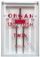 Jehly 130/705H, HAx1 Organ #100/6,0 TWIN 1ks plast