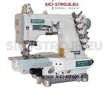 Šicí stroj Coverlock SIRUBA C007JD-W812-356/CRL/UTP/RL krycí steh, ořez, odstřih ( kpl ) - 1