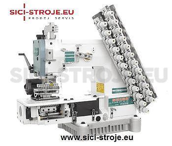 Šicí stroj SIRUBA VC008-12064P 12-jehlový šicí stroj, řetízkový steh ( kpl ) - 1