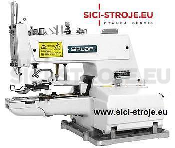 Šicí stroj Knoflíkovací SIRUBA PK511-U šicí stroj na přišívání knoflíků s odstřihem ( kpl ) - 1