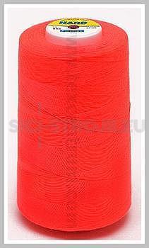 Nitě BLUE BOX-HARD 100% PES 5000y červená reflexní