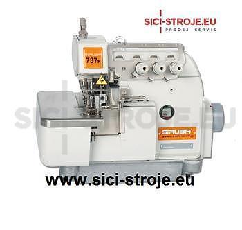 Šicí stroj, overlock SIRUBA 737KD-504M2-04 3-nitný overlock šíře 4 mm, servomotor ( kpl )PRODEJ UKONČEN=NÁHRADA - 1