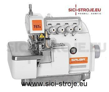 SIRUBA Šicí stroj Overlock 757K-516M2-35 5-nitný overlock, šířka stehu 3+5 mm ( kpl ) - 1