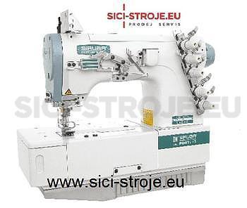 Šicí stroj Coverlock SIRUBA F007J-U122-232/FP šicí stroj na šití sámků ( kpl ) - 1