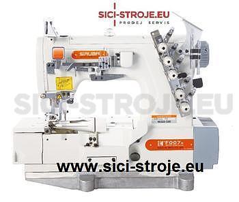 Šicí stroj Coverlock SIRUBA F007K-W222-248/FQ spodem vrchem krycí paspulovací ( kpl ) - 1