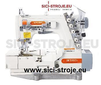 Šicí stroj Coverlock SIRUBA F007K-W222-364/FQ spodem vrchem krycí paspulovací ( kpl ) - 1