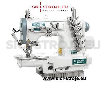 Šicí stroj Coverlock SIRUBA C007J-W122-232/CH šicí stroj spodem vrchem krycí ( kpl ) - 1