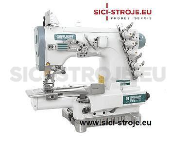 Šicí stroj Coverlock SIRUBA C007J-W222-240/CQ spodem vrchem krycí paspulovací ( kpl ) - 1