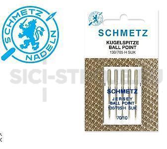 Univesální jehly SCHMETZ - 130/705H-SUK, 5ks. síla 70.