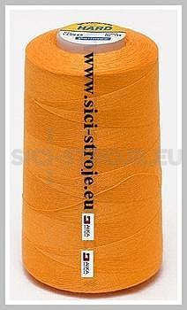 Nitě BLUE BOX-HARD 100% PES 5000y oranžová