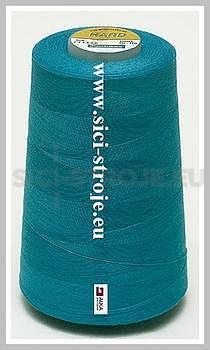 Nitě BLUE BOX-HARD 100% PES 5000y tyrkysová