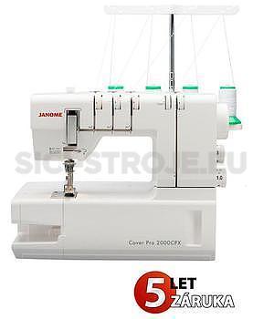 Šicí stroj coverlock JANOME 2000 CPX - 1