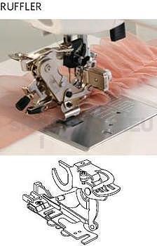 RUFFLER - patka pro řasení pro CB chapač a rotační