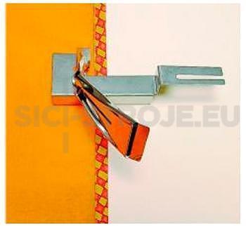 Zakladač pro lemování páskou 15-50mm pro coverlock