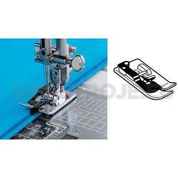 Kovová zipová patka pro slepý steh pro šicí stroje s rotačním chapačem - 1