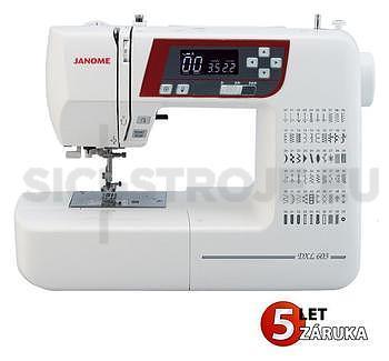 JANOME 603 DXL (2160) - ZÁRUKA 5 let - 1