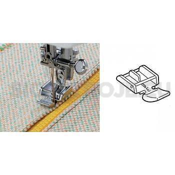 Patka zipová se používá k přišití jednotlivých stran zipu