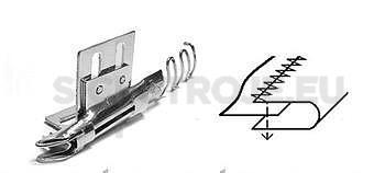 Zakladač A136C pro cik-cak stroje, šíře vstupní pásky 12,7mm