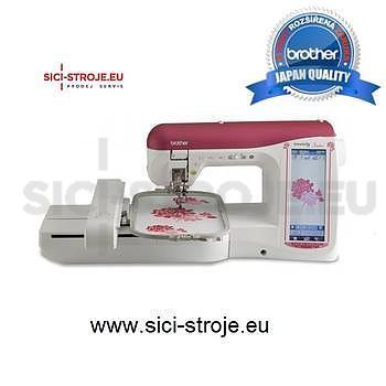 Šicí a vyšívací stroj BROTHER NV 5000 Model Laura Ashley+DÁREK - 1