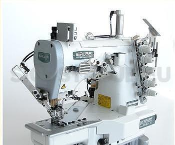 Siruba C007KD-W122-356/CH/UTR stroj krycí, odstřih, rameno