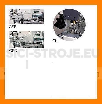 Siruba C007J-W542-356/CFC/CL/FH/2 3-jehlový našívání gumy