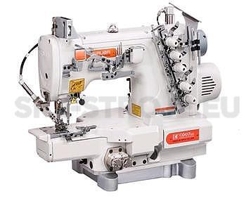 Siruba C007KD-W122-356/CH/UTP/CL stroj krycí, odstřih, ramen