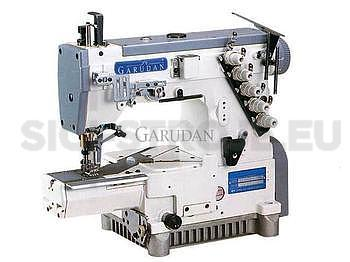 GARUDAN  šicí stroj interlock nebo coverlock CT-6200-048 M (KOMPLET)