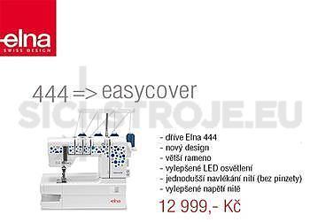 Elna EasyCover- coverlock spodem krycí - NOVINKA