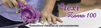 Kotoučová řezačka na textil TEXI ZORRO 100