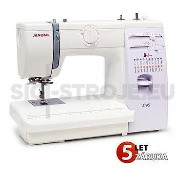 Šicí stroj JANOME 419S - 1