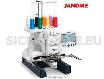 Elektronický vyšívací stroj Janome MB 4 s velkým chapačem - 1