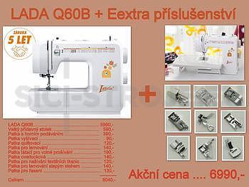 Šicí stroj LADA Q60B +příslušenství