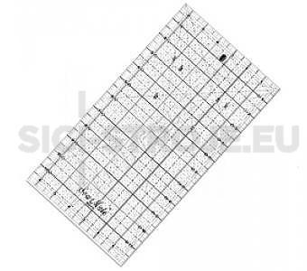 Rastrové pravítko pro patchwork 6.5 x 12 inch žlutý popis
