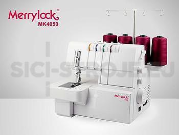 COVERLOCK MK 4050 MERRYLOCK + sada 3 patek zdarma - 1