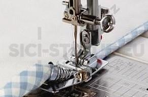 Patka pro lemování textilní páskou